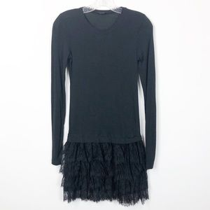 Theory Archan Ruffle Dress